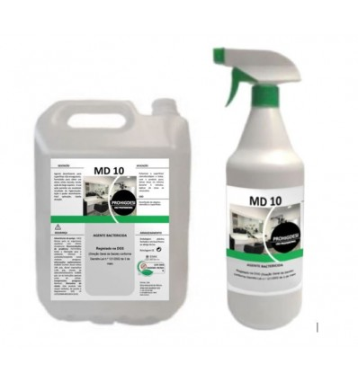 AGENTE BACTERICIDA MD-10 900ml+5000 ml